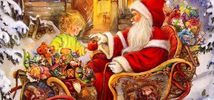 Микулаш и Ежишек (Чехия, Словакия) дед мороз, новый год.рождество, санта клаус