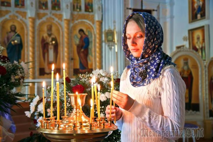 Почему женщины и девушки покрывают голову платком в церкви?