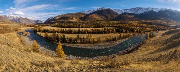 Reka Chuya krasota Altaya 8