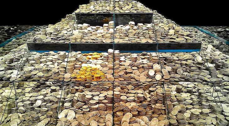 Всего со дна достали 595 тысяч старинных монет из золота и серебра © demetriocallemartinez.blogspot.com.es