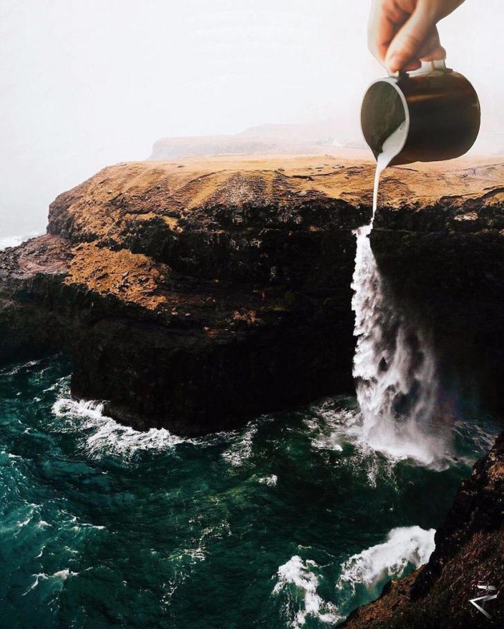 Керем Джигерджи, Kerem Cigerci, фотоманипуляции от 17-летнего художника