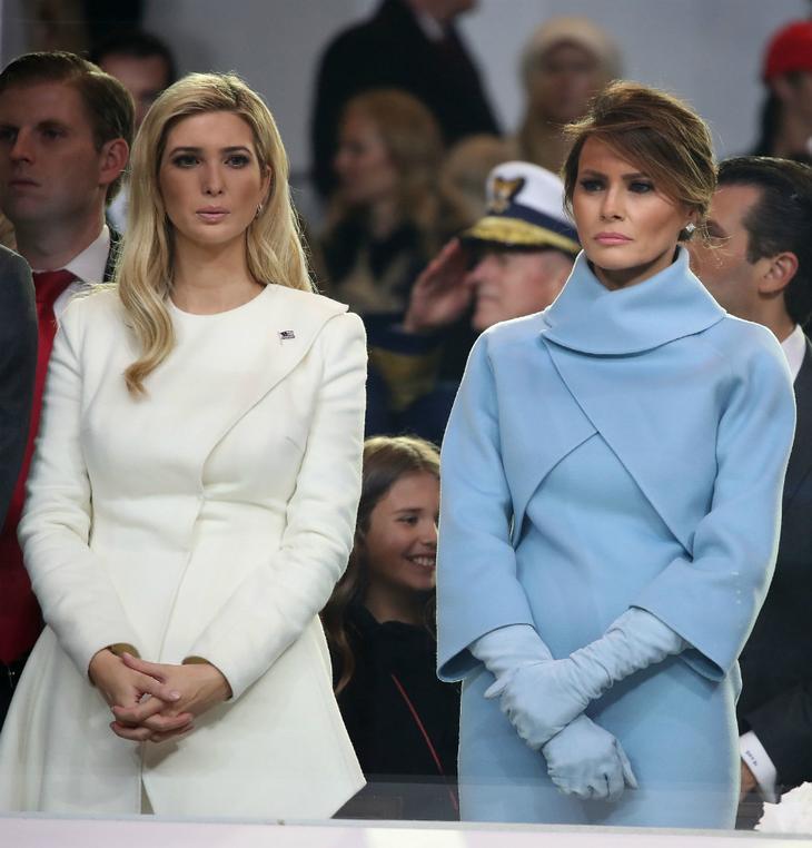 Мелания и Иванка Трамп