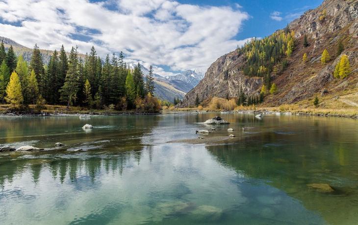 Reka Chuya krasota Altaya 4