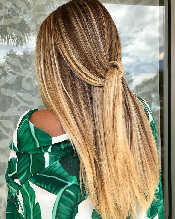 оттенки волос, популярные в 2019 фото 7