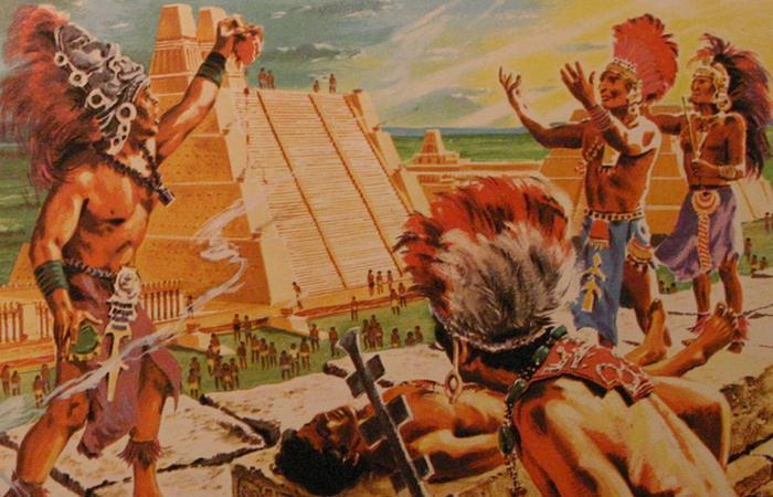 Пирамиды ацтеков в Мексике - история фото описание карта