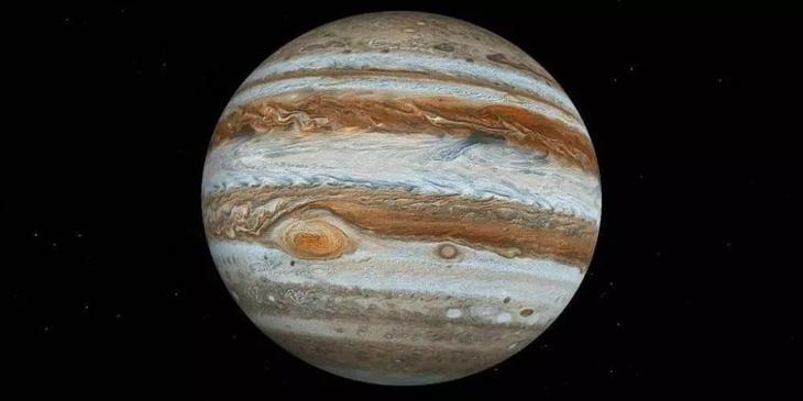 5. Большое Красное Пятно(БКП) Юпитера. космос, планеты, солнечная система, факты, чудеса
