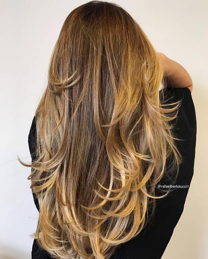 оттенки волос, популярные в 2019 фото 3