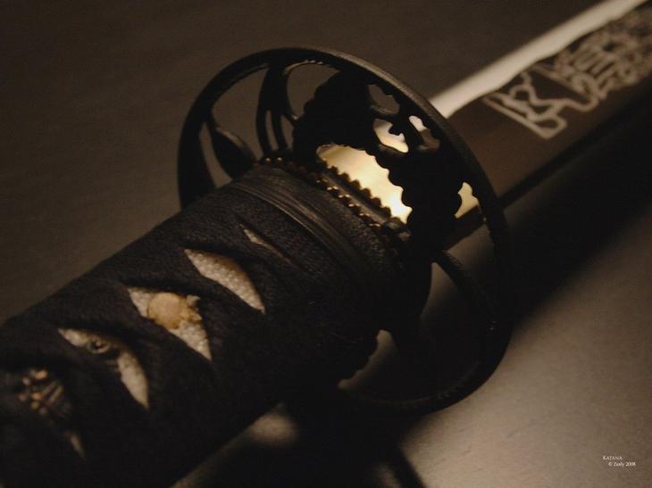 Японский меч технологии, япония, меч, оружие, интеересное