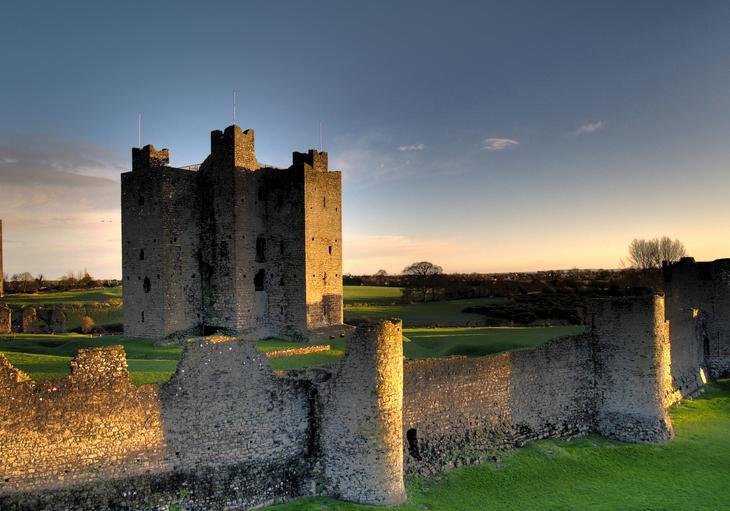 Замок Трим, Ирландия. Построен в 1174 году. европа, замки, история, средневековье