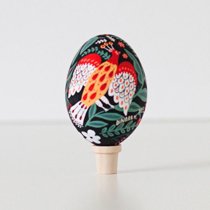 Пасхальные яйца фольклорные мотивы от художницы из Узбекистана Динары Мирталиповой, фото № 29