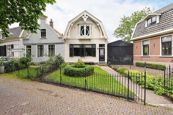 Традиционный голландский домик: красивый снаружи, милый внутри