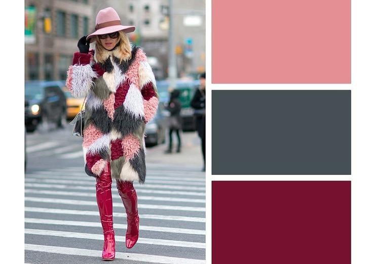 7 модных цветовых сочетаний для яркой зимы