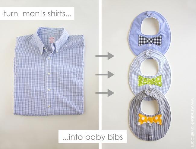 10 крутых способов переделать старую мужскую рубашку