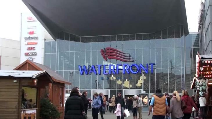Торгово-развлекательный центр Waterfront в германском Бремене