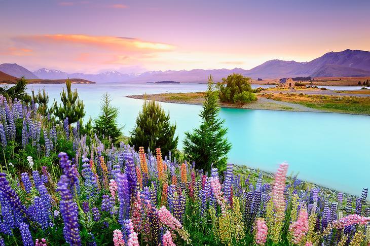 Отражения в озере - 30 красивых фотографий