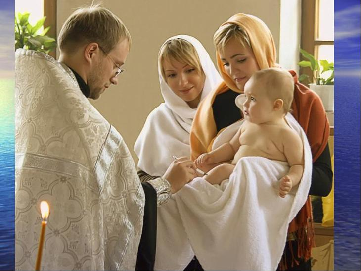 Можно ли беременным крестить ребенка?