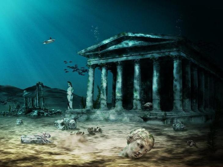 город Атлантида