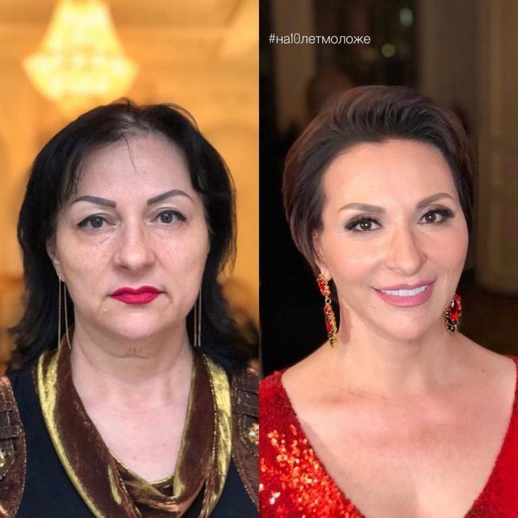 Этот российский стилист меняет женщин до неузнаваемости благодаря макияжу и причёске