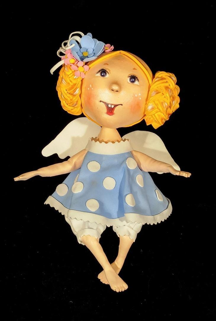 Кукла-девочка из фоамирана татьяны шмелёвой