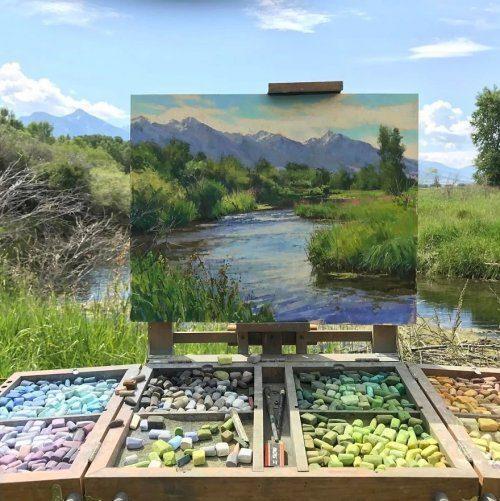 Невероятные пейзажи Аарона Шерра