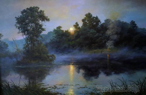 Картины художника из Омска Максима Солодченко