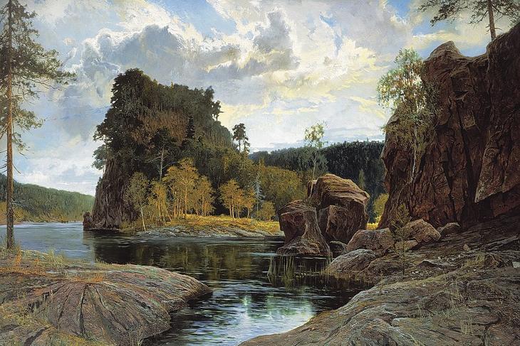 Современный русский пейзажист Александр Афонин