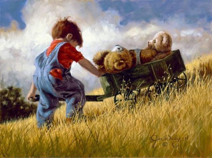 Сентиментальное путешествие в страну детства с Джимом Дейли, фото № 22