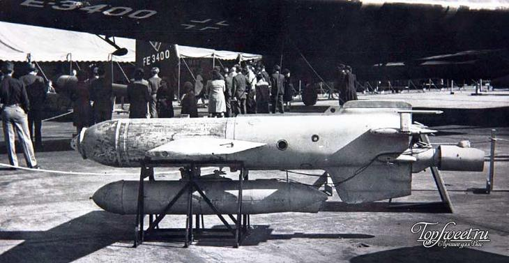 The Fritz X Guided Anti-Ship Glide Bomb
