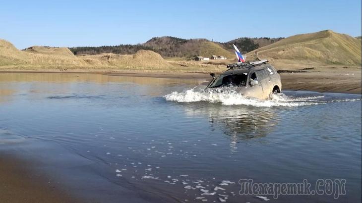 Преодоление реки Перепутка