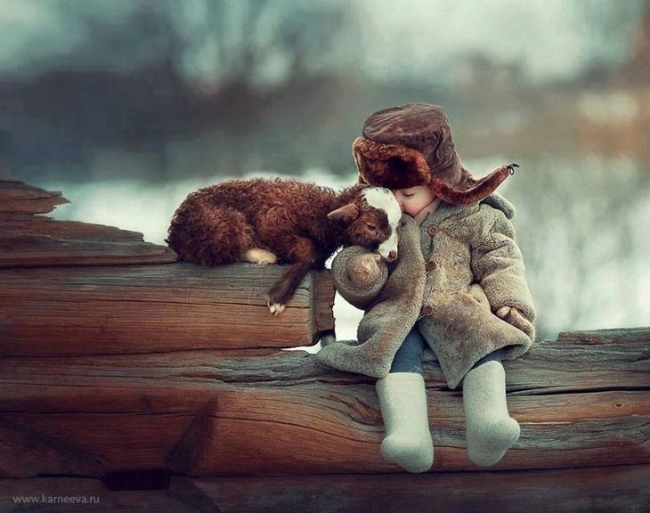 Фотограф, в которого влюблены дети и животные