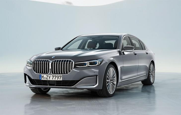 фото BMW 7-Series 2021-2020 вид спереди