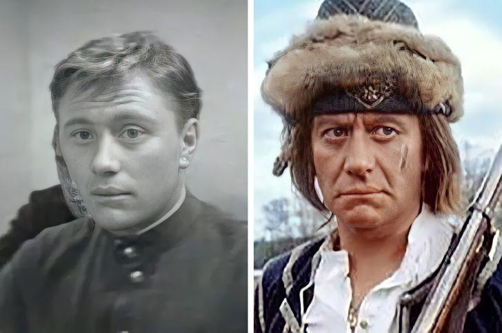 Фото наших любимых актёров в своих первых и последних ролях в кино и на голубом экране