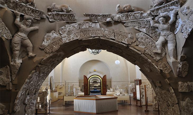 Экспозиция в музее Рокфеллера