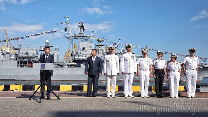 """В украинском """"достойном ответе"""" Черноморскому флоту нашли пробоину"""