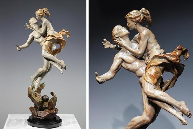 Чувственные скульптуры, от которых невозможно отвести взгляд