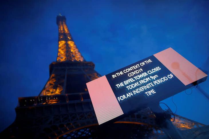 Эйфелева башня. Париж, Франция