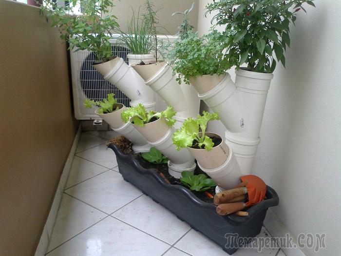 Творческое использование ПВХ труб в домашнем хозяйстве и интерьере