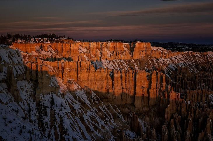Необыкновенный национальный парк Брайс-Каньон. Фото