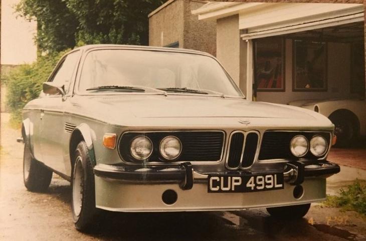 1973 год: BMW 3.0 CSL