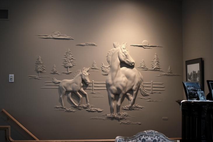 Штукатур из Канады превращает скучные стены в произведения искусства