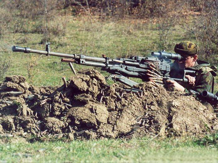 Крупнокалиберный пулемет НСВТ: обзор, характеристики и описание
