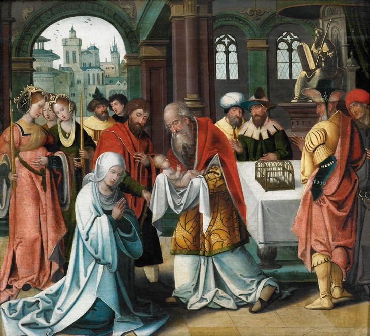 Питер Кук ван Альст. Принесение во храм