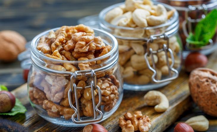 Орехи – продукт, помогающий улучшить кровообращение