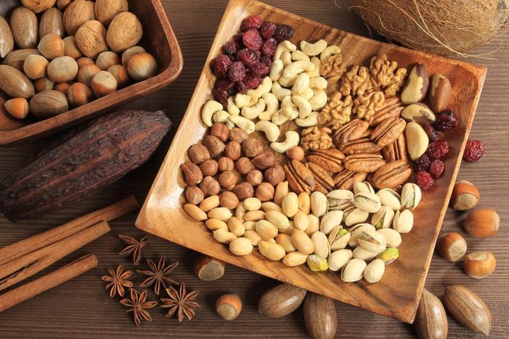 Разнообразьте рацион питания орехами