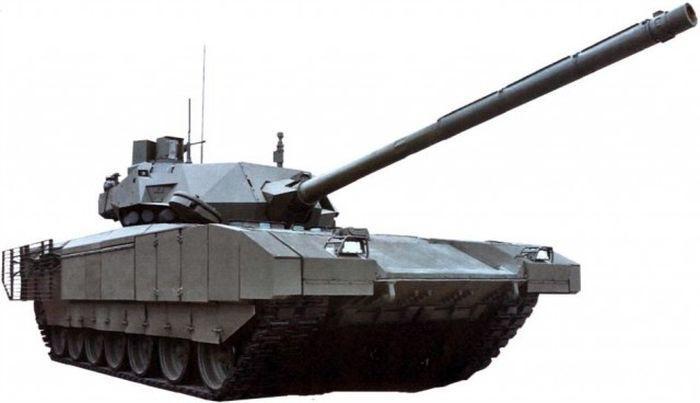 Танк Т-14 «Армата» и БМП Т–15: вид изнутри
