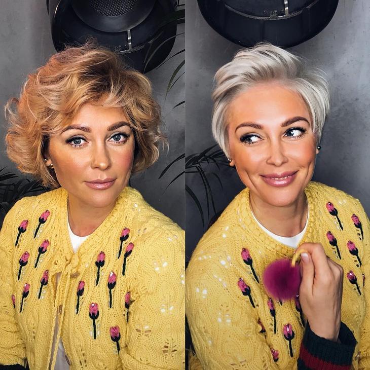 стрижки после 40 лет на разную длину волос фото 19