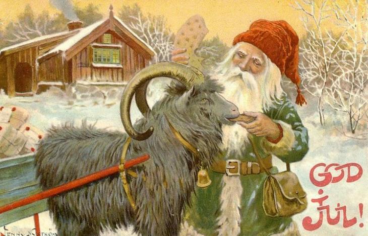 Йоулупукки (Финляндия)  дед мороз, новый год.рождество, санта клаус