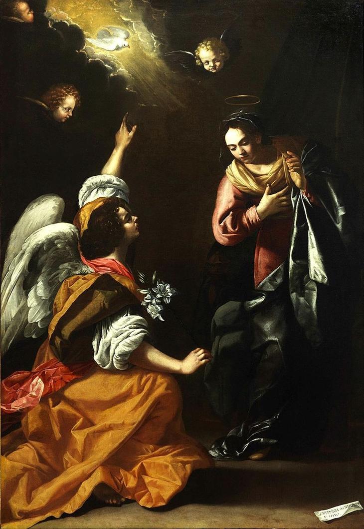 «Благовещениe» (1630)