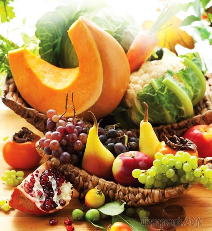Клетчатка: в каких продуктах содержится растительная и грубая, список продуктов