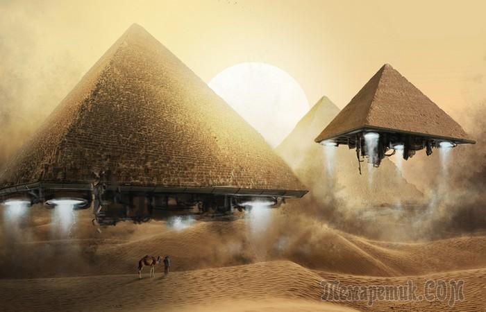 10 признаков того, что на древний Египет могли оказывать влияние инопланетяне